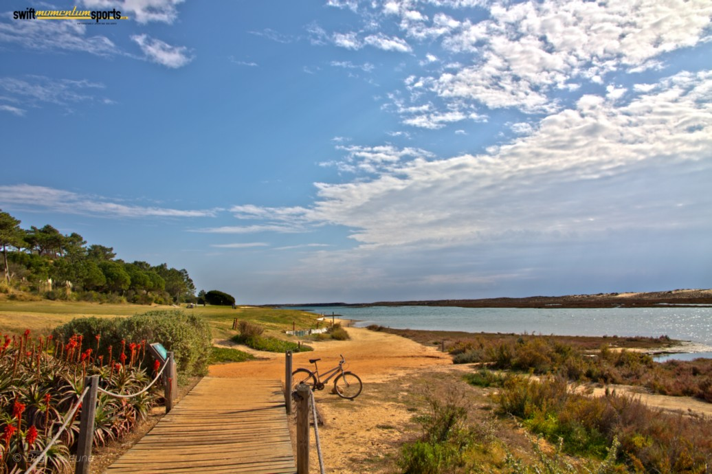 by the ria formosa