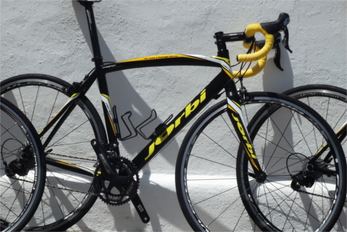 racing bike hire algarve: Jorbi Champion bike wih Shimano 105